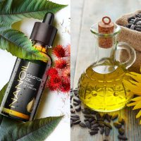 castor oil vs sunflower oil